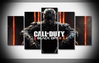 Call of Duty Black Ops III Poster Malerei Druck auf leinwand Holz Gerahmten Fertigen Galerie Wrap für Haus Wand Decor