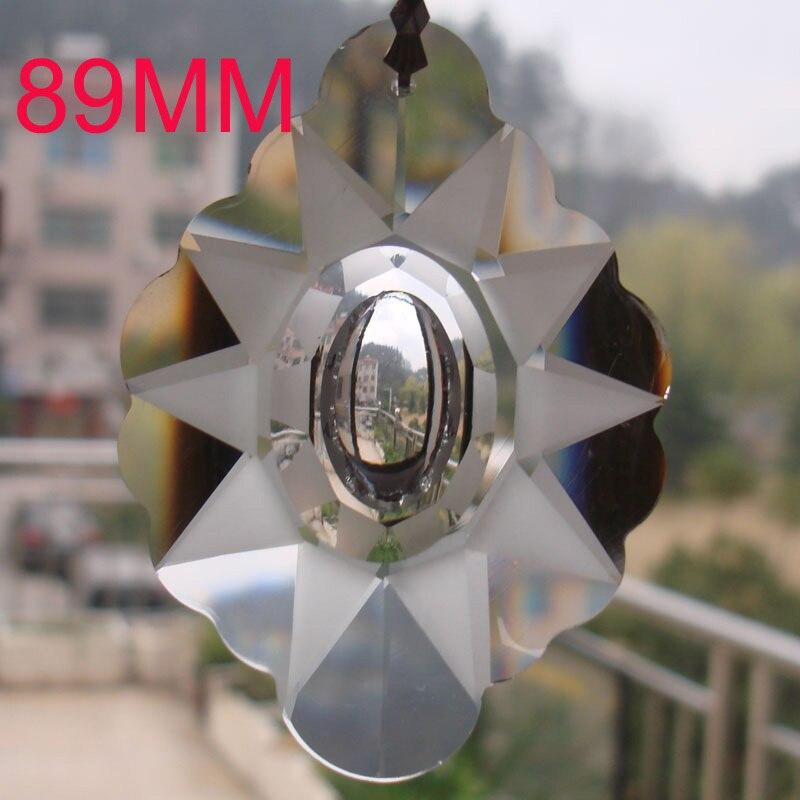 Colgante de recorte de cristal K9 cristales de vidrio de alta calidad prismas boda y decoración del hogar