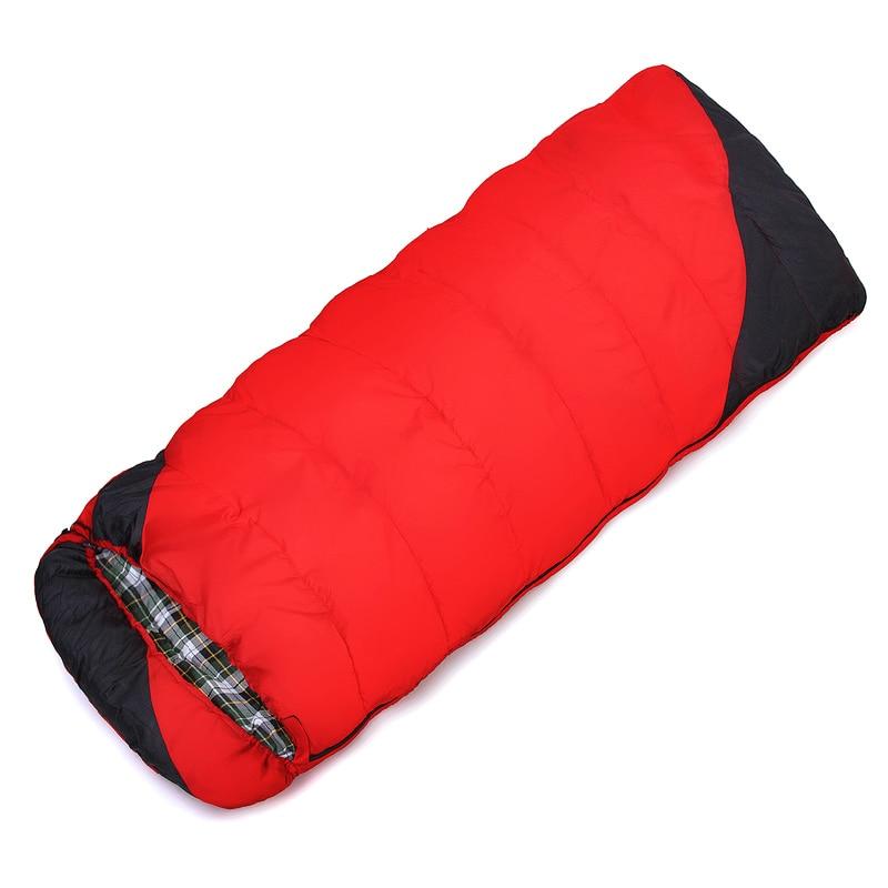 POINT BREAK High Quality Cotton Flannel Keep Warm Sleeping Bag Outdoor Hiking Travel Camping Sleeping Bag break point