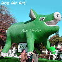 outdoor giant pig decoration Inflatable wild animals /Inflatable wild boar for event