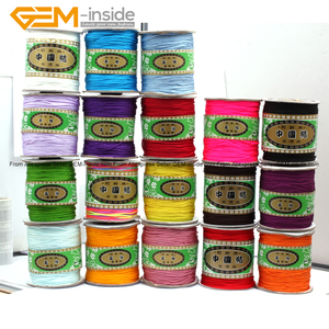 Нейлоновая оплетка ручной работы, шнур с хвостом, 130 метров, выбор цвета, модные украшения