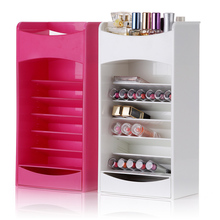 New lipstick shelf cosmetics box containing high-end boxes of cotton swab