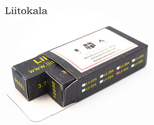 Image 5 - 4PCS 100% Original LiitoKala Lii 35A 3.7V 18650 battery 3500mAh 10A Discharging Rechargeable Batteries