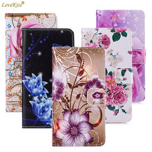 Butterfly Flower Wallet Leather Phone Bag For Samsung Galaxy Core Prime Prevail LTE G360 G361 S8 S9 S10 J4 J6 Plus A7 Case Cover(China)