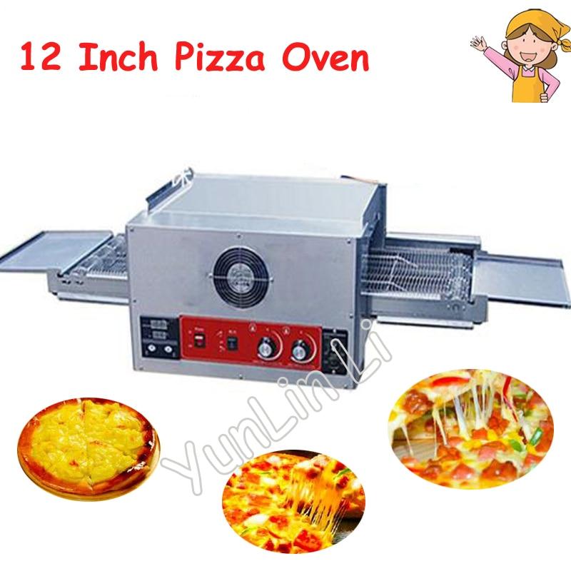 Commercial 12 pouces four à Pizza 220V four de cuisson électrique cuire grand distributeur gâteau pain Pizza four CH-FEP-12