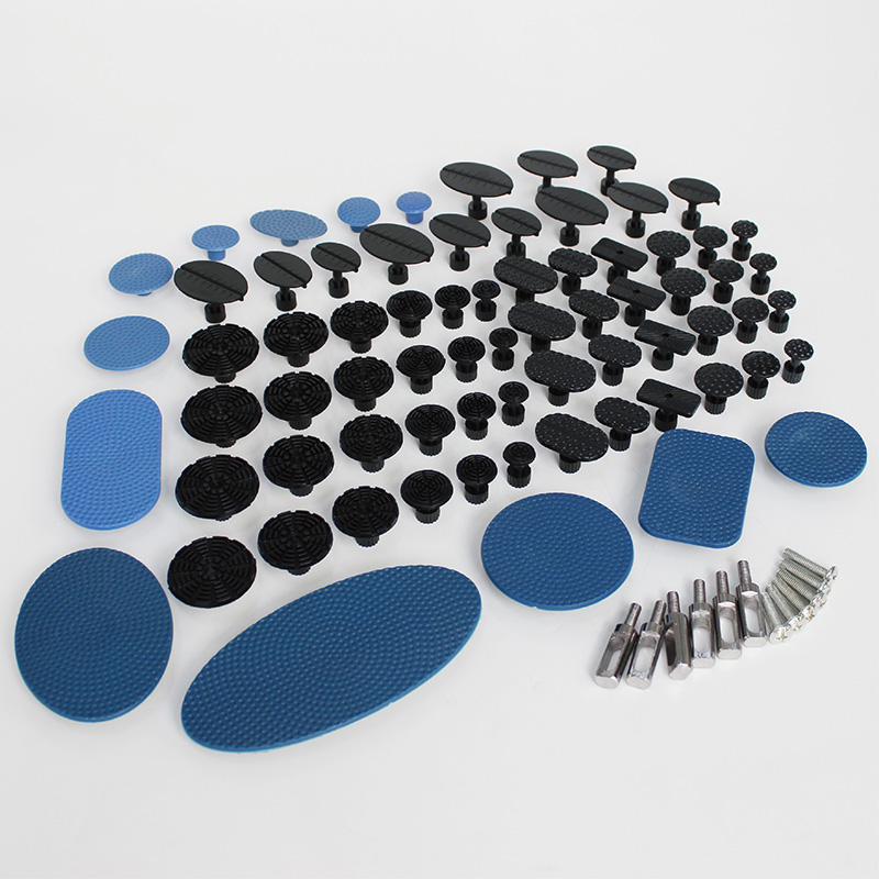 PDR Tools kit suction cup paintless dent repair puller removal glue pulling system tabs remove hail