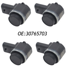 4PCS PDC Parking Sensor Reverse Assist 30765703 For VOLVO C30 C70 S60 S80 V70 XC70 XC90 30786968 30786320