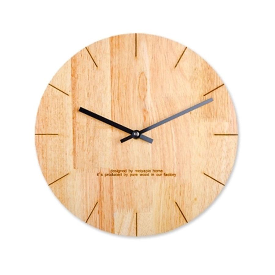 Silent Large Wood Wall Saatk Modern Design Electronic Deco Salon Retro Seahawks Parete Big Home Design Wall Decor W50046