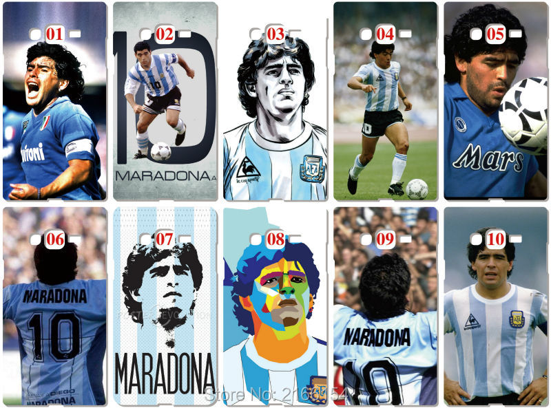 Maradona Football Case For Samsung Galaxy A5 A7 2018 Version S9 Plus S4 S5 S6 S7 Edge Note 3 4 5 E5 E7 Phone Cover Coque Fundas