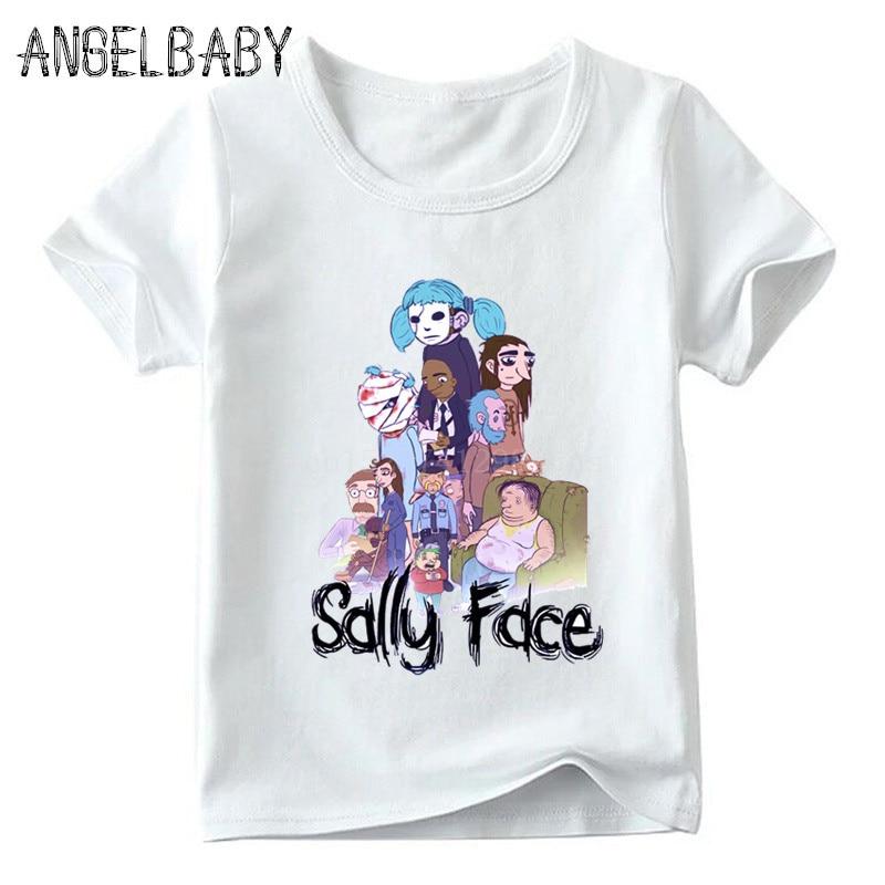 Toddler Boys Girls Kids Funny Graphic Panda Face Black T Shirt Cotton Tee Summer Tops