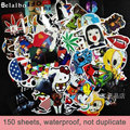 {Factory Direct Sale} car sticker Skateboard Snowboard Vintage Vinyl Sticker GraffitiLuggage Car Decals mix Lot Fashion Cool