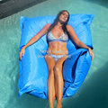 Cover only  No Filler-Luxe Edition King Kai Float-swimming bean bag chair-outdoor beanbag furniture seat ,beds relaxing on water