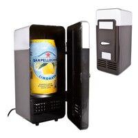 1ชิ้นมินิตู้เย็นระบายความร้อนความร้อนตู้เย็นเครื่องดื่มกระป๋องเครื่องดื่ม