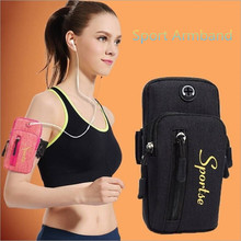 Portable 4 To 6 inch Universal Sport Armband Waterproof Arm band Case For iPhone Huawei Samsung Galaxy Xiaomi Canvas Phone Bag стоимость