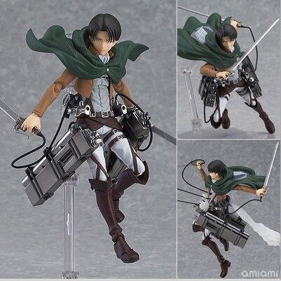 Titan legion Scouting shingeki no Kyojin Levi Figma Action Figure Model