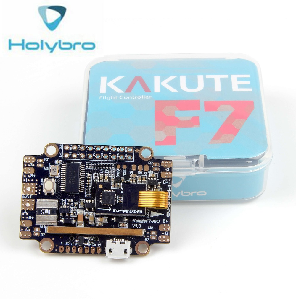 Holybro Kakute F7 AIO kontroler lotu STM32F745 BMP280 IMU Betaflight OSD Integrierte kontroler lotu w/Anti wibracje Pad w Części i akcesoria od Zabawki i hobby na  Grupa 1