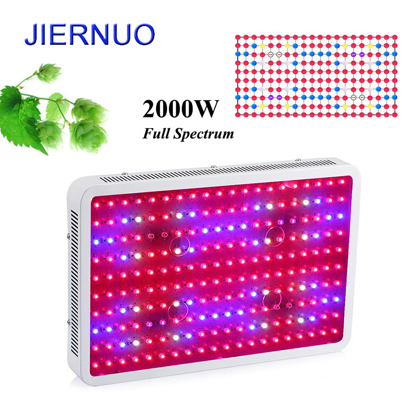 купить Fitolampa Double Chips LED Plant Grow Light 2000W 1200W 1000W 300W 600W Full Spectrum LED Plant Lamp for Green House Plants BJ недорого
