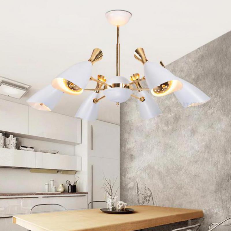 Showcase Post Modern duke lamp Suspension Luminaire for living Room Restaurant Duke pendant lights by Scandinavian Designer E27 цены онлайн