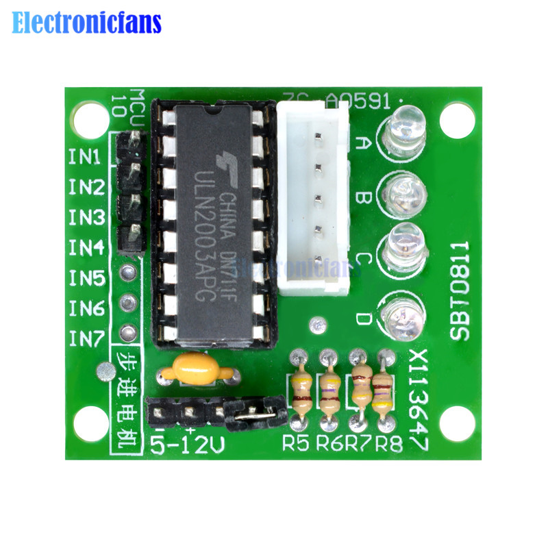 5PCS Stepper Motor Driver Board Module ULN2003 for 5V 28BYJ-48 Arduino