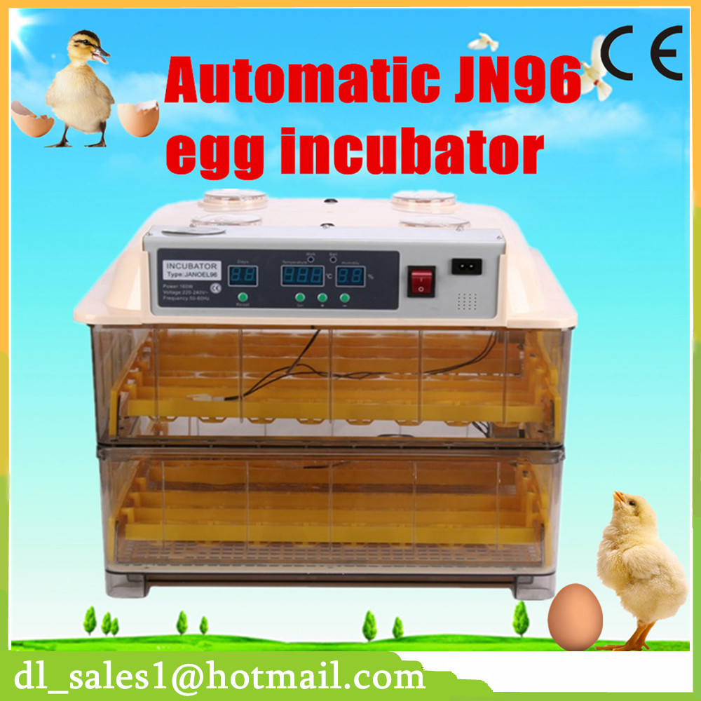 Newest Cheap Price Poultry Hatchery Machine For 96 Chicken Duck Eggs Digital Temperature Full Automatic Egg Incubator hot sale poultry hatchery machine 96 eggs digital temperature full automatic egg incubator for chicken duck quail parrot