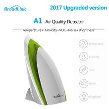 Broadlink e-air a1 air quatily détecteur capteur intelligent smart domotique système température humidité pm2.5 pm 2.5 etc.