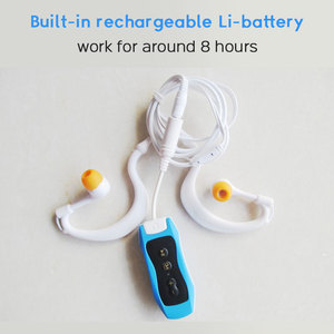 Image 5 - High Quality Mp3 Player 4GB IPX8 Waterproof Swimming MP3 For Summer Diving Outdoor Sport FM Radio Music Player With Earphone