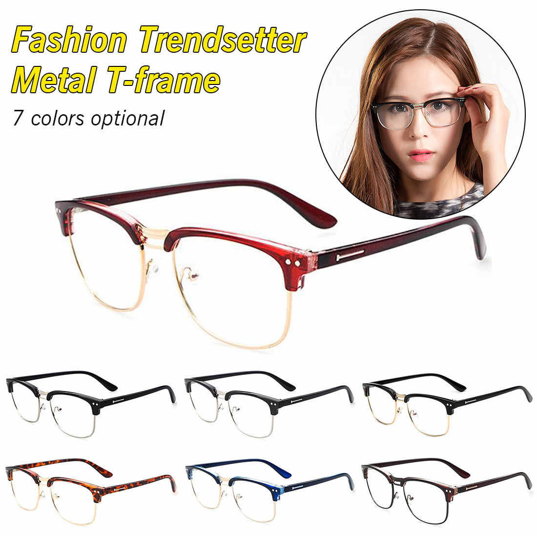 943f54add3 ... Frames For Men Women Transparent Eyewear Nerd Optical Spectacles New Retro  Vintage Fake Myopia Eyeglasses Clear ...