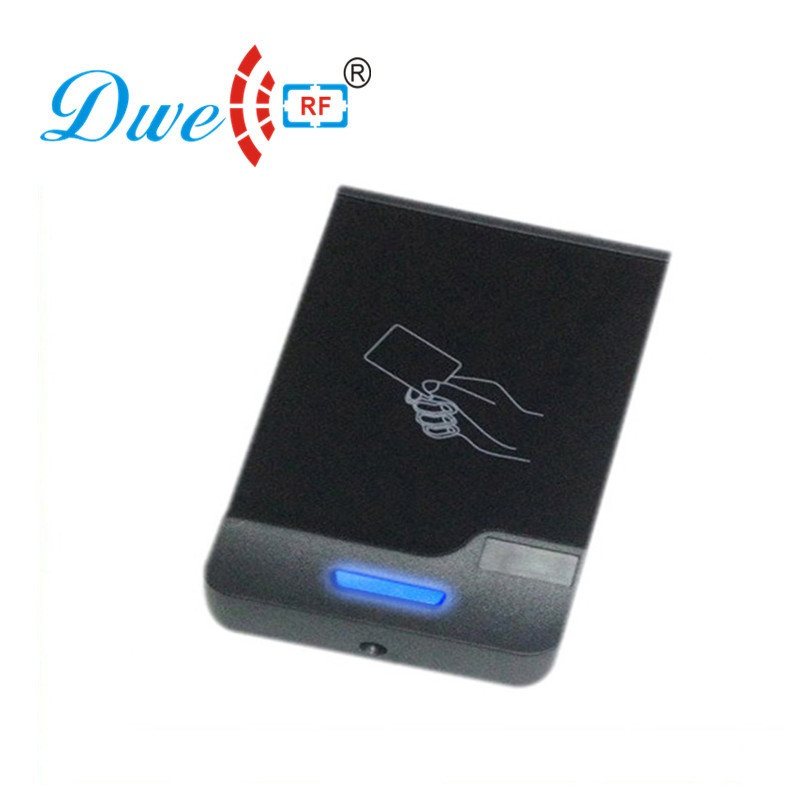 DWE CC RF Contactless 13.56mhz MF RFID Smart Card Reader Waterproof NFC Scanner Wiegand EM4100 D901A-M rf development board rfid contactless ic card induction card card reader development board 51 series