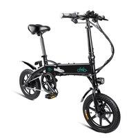 2019 Новое поступление Электрический велосипед 14 дюймов D1 10.4Ah складной электрический скутер электрический велосипед надувные резиновые шин
