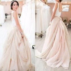 تنورة زفاف رومانسية من الشيفون منفوشة عصرية مكشكشة كبيرة مكشكشة لحفلات الزفاف تنورة طويلة مصممة حسب الطلب ملائمة للحفلات الراقصة
