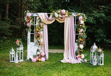 Laeacco Park Curtain Flowers Lamp Photocall Wedding Photography Background Customized Photographic Backdrop For Photo Studio p9 2m 4m pc mode controller led video curtain for wedding backdrop customized fireproof light curtain dj stage background