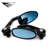 Folding Motorcycle Accessories rearview mirrors Foldable Handlebar End mirrors For z800 bmw 1200 gs xmax bmw r nine t cbr xmax