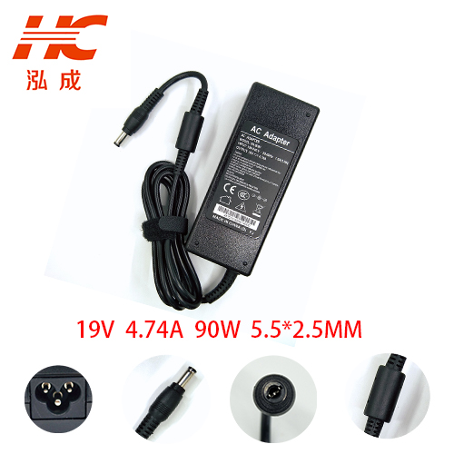 TINGXING Universal Charger For asus 19V 4.74A 90W 5.5mm*2.5mmFor Laptop lenovo/toshiba