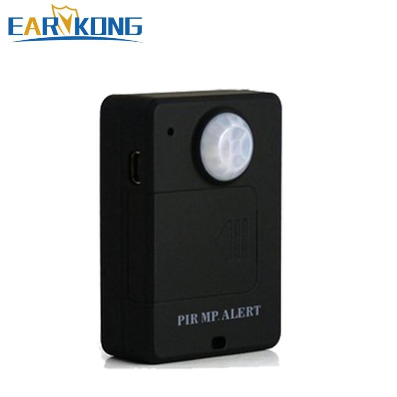 Mini GSM Alarm System Inside Wireless motion detector, PIR ...