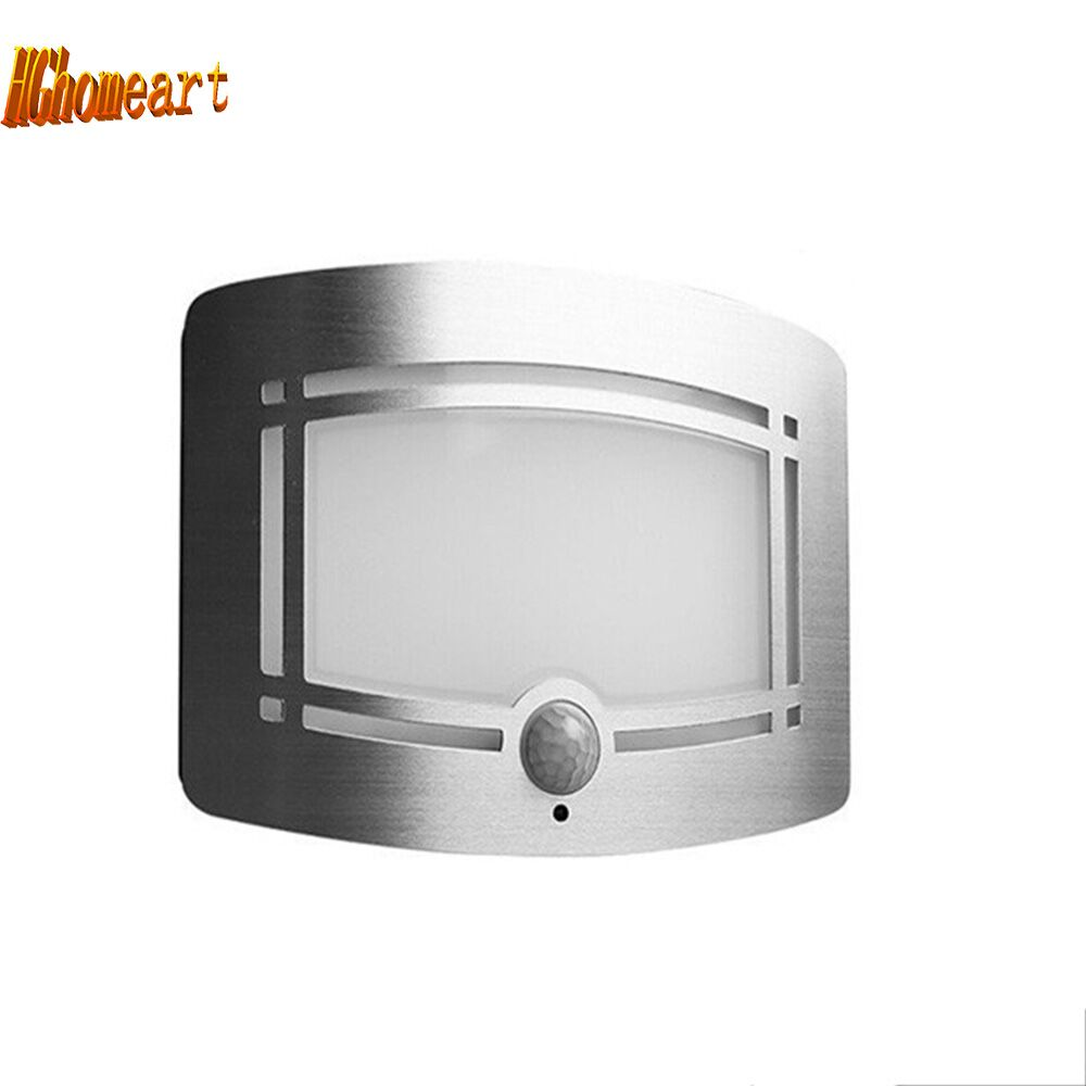 Top Aluminum IR LED night light with motion sensor Wall led 12v light night lamp battery