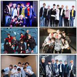 BTS new style poster decoration painting home bedroom poster gift giving part 7