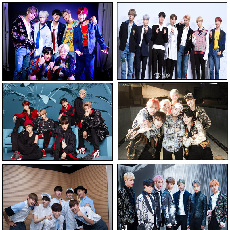 BTS new fashion poster ornament portray residence bed room poster present giving half 7 Wall Stickers, Low cost Wall Stickers, BTS new fashion poster ornament portray residence bed room...