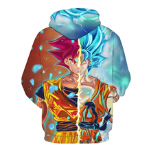 Super Saiyan Rose Blue Goku Sweater