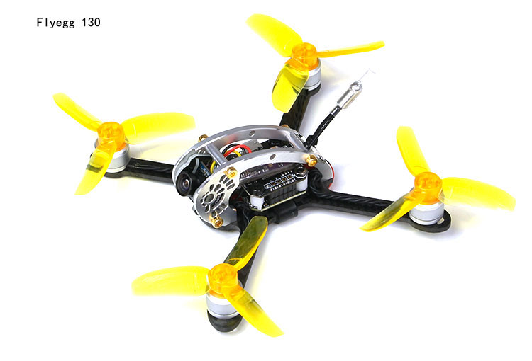 Flyegg 130 PNP FPV Racing Mini Indoor Brushless font b Drone b font Quadcopter with DSM2