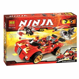 Image 3 - 9796 Ninjagoed Duel Ninjutsu Racing Truck Bricks Toy Ninja Kids Educational Toys For Children Building Bricks