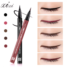 XIXI Brand Professional Fast Dry Smooth Waterproof Eyeliner Pencils Eyes Makeup Brown Black Color Pigments Liquid Eye Liner Pen