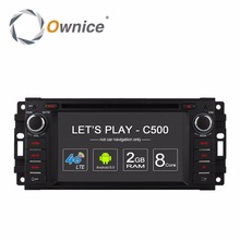 Ownice Android car dvd Multimedia player for Chrysler Jeep grand wrangler patriot compass journey Dodge gps navigation radio PC