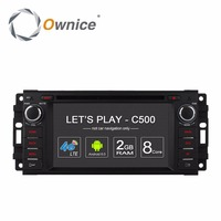Ownice Android Car Dvd Multimedia Player For Chrysler Jeep Grand Wrangler Patriot Compass Journey Dodge Gps