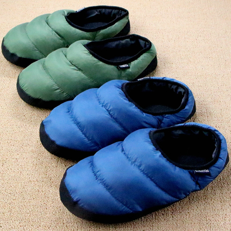 Down-Soft-Couple-Lovers-Light-Small-Package-With-Multi-colored-Eight-Colors-Cotton-padded-Slippers-Home