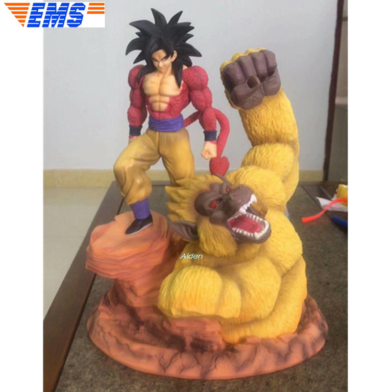 15 Dragon Ball Super Saiyan Statue Son Goku Orangutan Bust Kakaro Vegeta PVC Action Figure Collectible Model Toy BOX 39 CM Z30815 Dragon Ball Super Saiyan Statue Son Goku Orangutan Bust Kakaro Vegeta PVC Action Figure Collectible Model Toy BOX 39 CM Z308