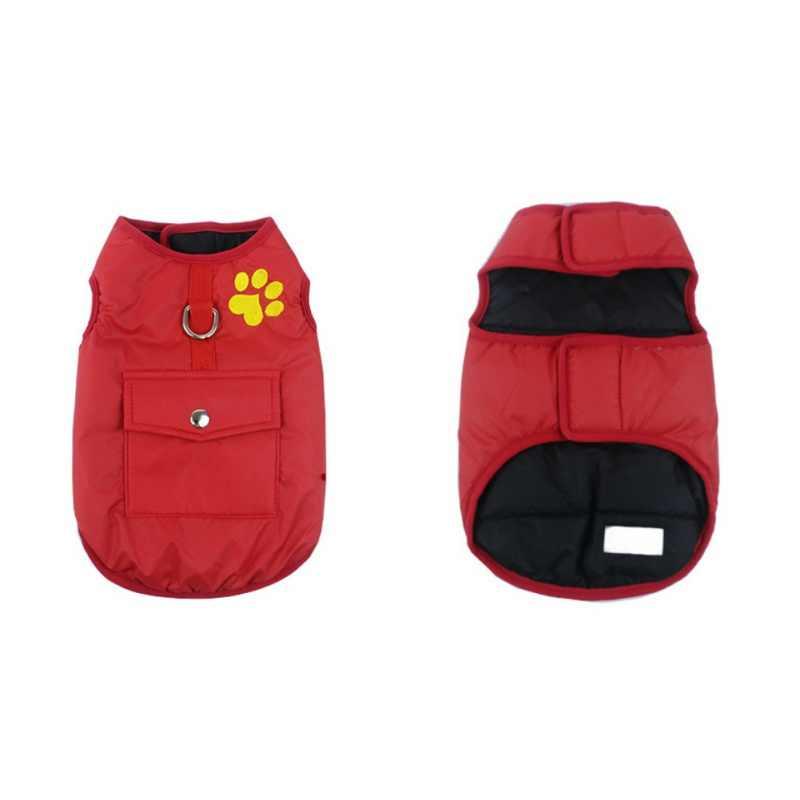 7 Size plus Winter Warm Hond Huisdieren Kleding Waterdicht Pet Vest Jasje Chihuahua Pug Franse Bulldog Kleding