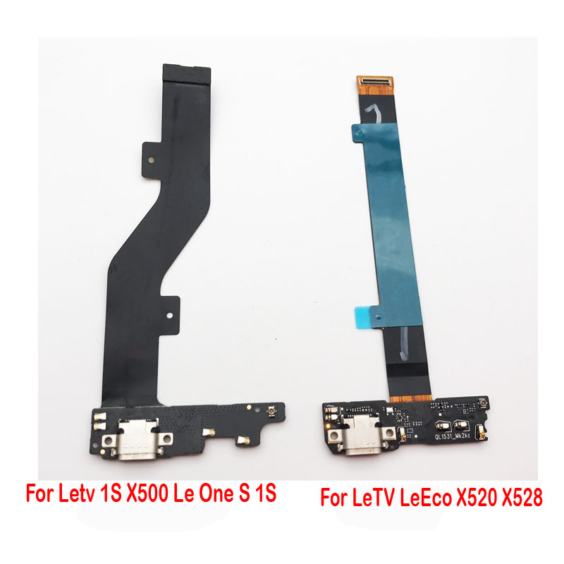 Original For Letv LeEco Le 1 1S 2 2 Pro X500 X501 X520 X600 X608 X620 X621 Dock Connector Board USB Charging Port Flex Cable