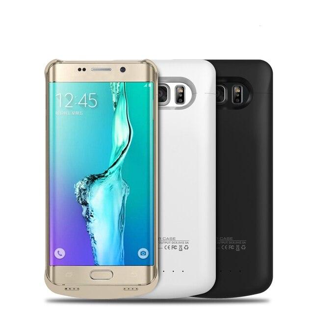 4200 мАч Резервная Батарея Обложка Зарядное Устройство Чехол Для Телефона для Samsung Galaxy Note5 S6 Edge Plus N9200 G9280 Мобильный Примечание 5 edge +