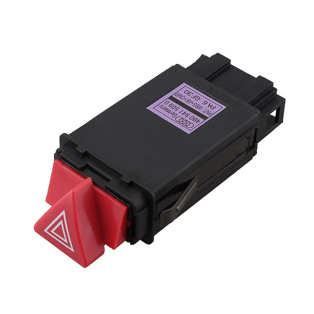NEW For AUDI A3 A4 B5 A6 C6 Hazard Warning Light Switch Flasher Relay 8D0941509H