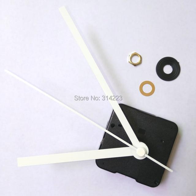 US $104 5 5% OFF|Wholesale! 100pcs New mute Quartz Clock Movement for Clock  Mechanism Repair DIY clock parts accessories shaft 16 5mm-in Clock Parts &
